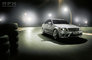 Mercedes Benz, automotive, c-class, c63, car, cars, flare, manufacturer, mercedes, motion, motion blur, night, racing track, silver varnish, special effects, tyre, varnish, wet* silver, when