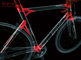 Type, __unsorted_keywords, bicycle, bike, black, carbon fibre, chrome, colors, cycling, environment, indoors, location, materials, objects, product shot, red, sport, sports, still life, still-life, stilllife, studio, technological