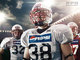 Drinks, Type, __unsorted_keywords, adult, american football, clothing, cloudy, day, daylight, environment, fashion, food, football, helmet, jersey, location, male, man, men, objects, people, pepsi, portrait, rugby, sport, sports, stadium, sun, sunny, weather conditions, when