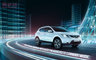 CGI, Type, __unsorted_keywords, ad, advertising, automotive, car, cars, city, environment, futuristic, glass city, glasscity, location, manufacturer, neon, night, nissan, outdoors, qashqai, reflection, transparency, urban, video game, when