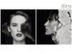 Analogue, BW, Beauty, Black & White, Type, __unsorted_keywords, b&w, diptych, fashion, natural, overlay, sensual, teen, teenager, young, zombies
