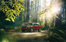 4x4, Driving, Explorer, SUV, automotive, car, cars, class, colors, flare, ford, forest, manufacturer, motion, motion blur, nature, red, red varnish, special effects, sunny, suv, varnish, woods