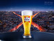 2016, Beer, CGI, Drinks, Fluids, Liquids, Paris, Type, __unsorted_keywords, advertising, cgi metal, cityscape, food, france, kronenburg, nations, night, still life, still-life, stilllife