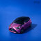 #2018, Aygo, CGI, Car, Toyota, advertising, blue, car in studio, car parked, cgi car, cgi full, day, daylight, front threequarters, hatchback, magenta car, metallic car, shortback