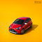 #2018, AUTOMOTIVE, Aygo, CGI, Car, Toyota, advertising, car in studio, car parked, cgi car, cgi full, day, daylight, front threequarters, hatchback, red car, shortback, yellow