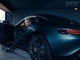 #2018, #OVERALL TONE IF STRONG, AUTOMOTIVE, Car, Mercedes-Benz, RETOUCHING, advertising, car parked, cool tone, garage, grey car, low light, man, men, rear threequarters, wide angle