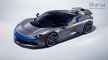 #2019, AUTOMOTIVE, Automobili Pininfarina, Battista, CGI, Car, EV, advertising, car in studio, cgi car, electric vehicle, front threequarters, grey car, white background