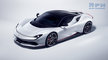#2019, AUTOMOTIVE, Automobili Pininfarina, Battista, CGI, Car, EV, advertising, car in studio, cgi car, electric vehicle, front threequarters, white background, white car