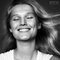 BW, Beauty, Black & White, __unsorted_keywords, b&w, black and white, blond, cheerful, colors, expression, happy, natural, smiling, studio, white, woman, zombies