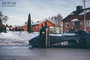Transportation, __unsorted_keywords, automotive, bat mobile, batman, car, comix, fantastical, fiction, hero, heros, residential, snow, weather conditions, winter